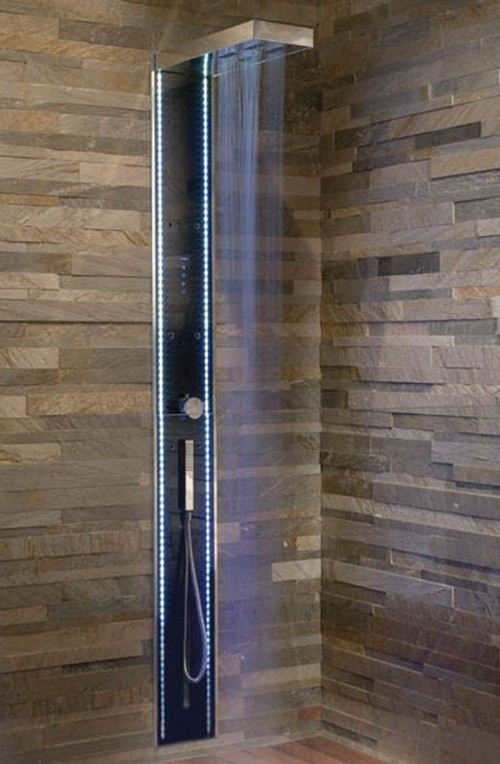 bathroom tile showers bine with the simple design and the