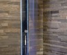 Modern Blue LED Shower Bathroom Tile Ideas by Megius 