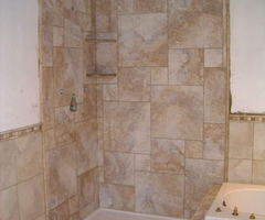 Bathroom on Building A Ceramic Tile Shower Pictures Bathroom Bathroom Tile Showers