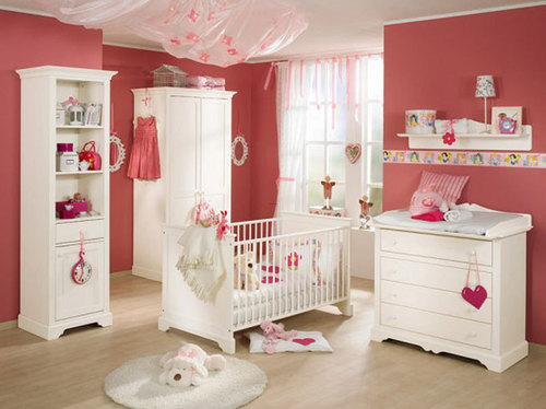 Baby Room Design, Newborn Baby Nursery Room