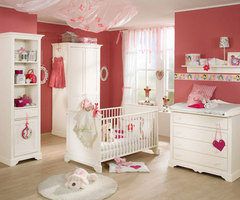 Newborn Baby Nursery Room