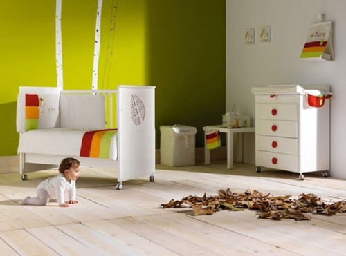 Baby Room Design, Lovely Baby Nursery Furniture By Cambrass
