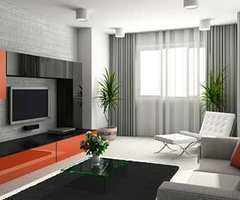 Modern Living Room Curtain Ideas, Living Room Curtains, Modern Curtain Pictures