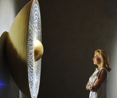 @Design Miami 2011  The IRIS Crystal Lamp Collection By Swarovski Crystal Palace
