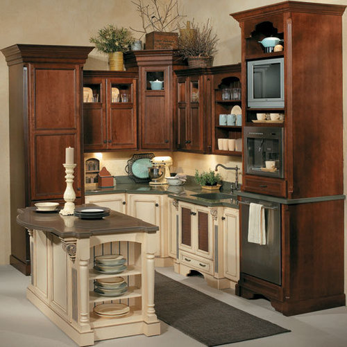 Brown Kitchen Cabinets, brown kitchen cabinets idea