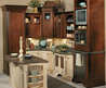 brown kitchen cabinets idea 