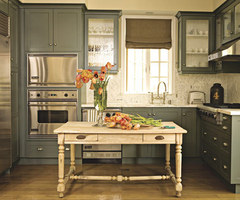 Pictures of Painted Kitchen Cabinets