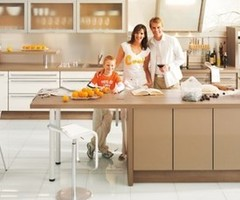 lovely modern simple brown kitchen cabinets