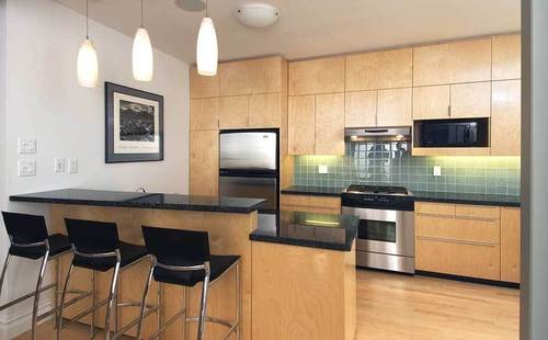 Maple Cabinets With Black Granite, Ideas for Amazing Kitchen Design and Dining Room