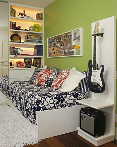 contemporary and cool teenage boys room design ideas by