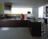 Dali Modern Italian Kitchen Cabinets Collections from European Cabinets by Design kitchen cabinets DALI glossy olive dark oak – Home Furniture Design
