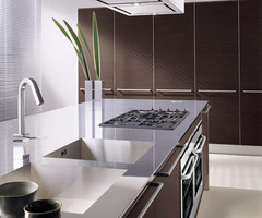 Kitchen Cabinets With Dark Oak Laminate Doors