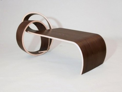 Unusual Coffee Table, Elegant And Stylish Why Knot Table