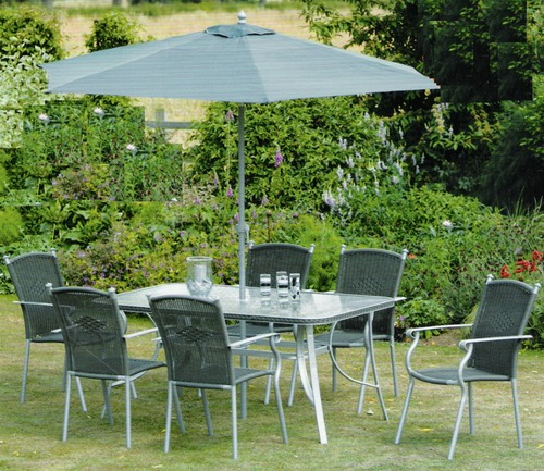 Metal Garden Furniture, White Metal Garden Chairs
