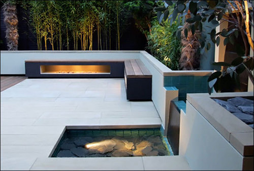 Roof Terrace Design, Modern Zen Roof Terrace Garden by Amir Schlezinger  /  Home Trends