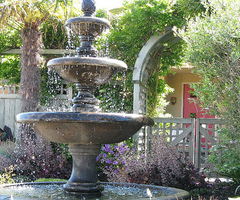 Outdoor Fountain Accessories for Landscaping Ideas