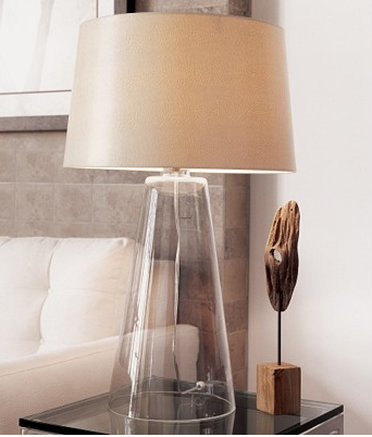 Table Lamps For Living Room, Modern Glass Table Lamps : katyelliott.com