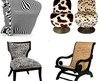 Antique and Modern Living Room Chairs