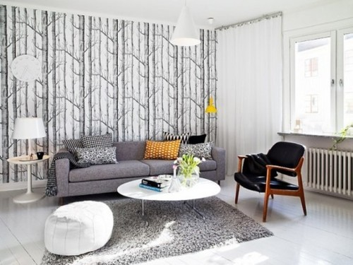 Contemporary Home Designs, Elegant And Functional Swedish Living Space For A Modern Family