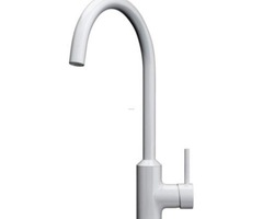 White Kitchen Faucet : Grassrootsmodern