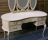 Beautiful Dressing Table With Round Glass dressing table french shabby chic 2  Home And Interior Design Picture