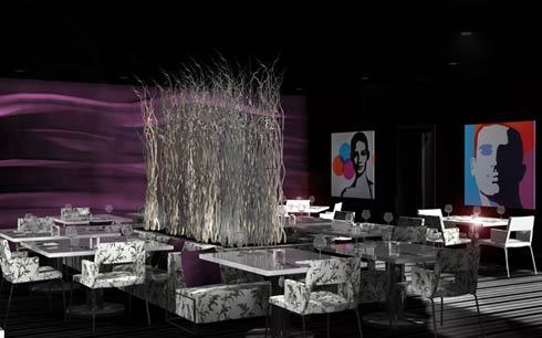Restaurant Interior Design Black Purple, 7 Incredible Modern Interior Design Ideas For Restaurants