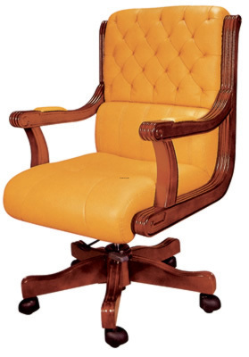 Leather Office Seating, Leather Office Chair / Boss Chairs(S