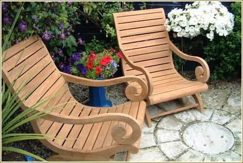 Teak Garden Furniture, Wooden Garden Furniture