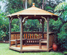 Gazebo, Beautiful Accessories For Park Design