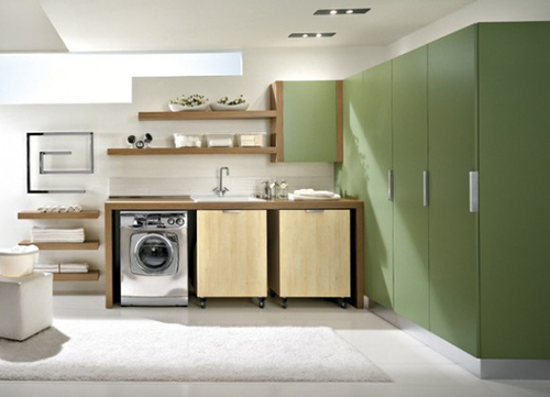 Laundry Room Storage Creative Design With Modern Cabinet