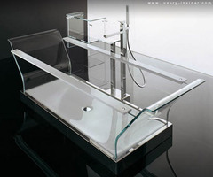 Novellini's Cristalli Bathtub Gives Clean A Whole New Meaning