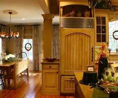 Romantic and Classic Country Kitchen Design Romantic
