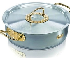 Gold And Diamond Cooking Pot For Luxury Kitchens!