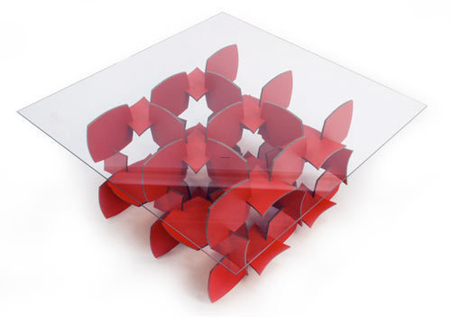 Eco Friendly Design, Mudo Table by OCD Furniture Is a Puzzling Coffee Table