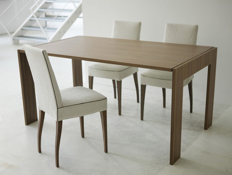 Dinner Table Design, Folding Dining Table Folds into – Mirror!!!!
