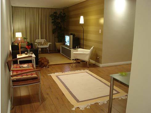 Apartment Room Decorating Ideas, apartment decorating model and living room decor ideas