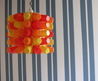 Lamp shade made from cartons