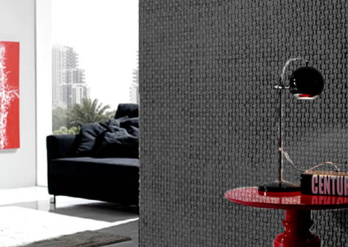 Contemporary interior wall covering design ideas dreamwall domo black flooring room images - Unique floor covering ideas ...