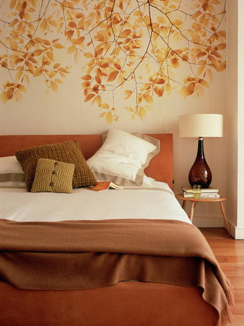 Wall Decoration With Colour : Bedroom improvement mural wall d?cor design bookmark