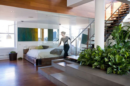 Contemporary Indoor Garden Design Ideas With Beautiful Green Plants ...