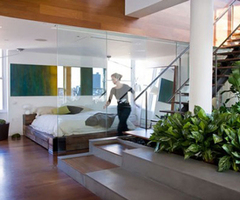 Contemporary Indoor Garden Design Ideas With Beautiful Green Plants House Design Decorating, Architecture, Interior Design idea, Picture, And Photo Gallery