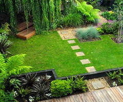 Exotic Home Interior Design and Decorating Ideas with Cute Indoor Garden