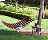 Hammock, Table And Swing Made Of Old Wine Barrels