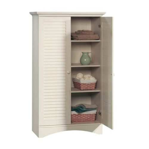 bathroom laundry room bedroom linen storage organizer cabinet