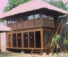 Gazebo, a wooden house from Java