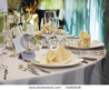 Elegant Table Setting For Wedding Stock Photo 31682638 : Shutterstock