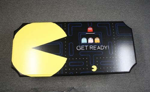 Coffee Table Design, Retro Pacman Coffee Table Design