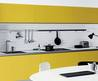Vetronica Warm Yellow Kitchen Cabinets on Exterior Design