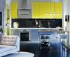 Fresh Contemporary Interior: Blue Yellow Green and Red Colors in the Interior Design