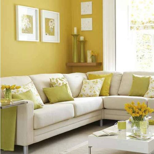 Warm Yellow Interior Design, Yellow is not just Mello